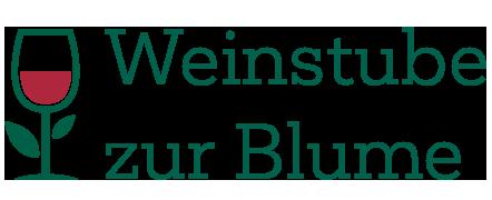 Weinstube zur Blume Logo